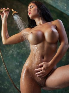 If you are into beautiful tanned-skinned, raven-haired beauties, then Kendra Roll is the girl for you! Big, beautiful tits on a fit and toned body is something we can all appreciate!