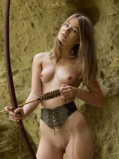Free nude gallery of erotic model Nastya H. strips naked and exposes her perky tits, perfect ass and nice shaved pussy.